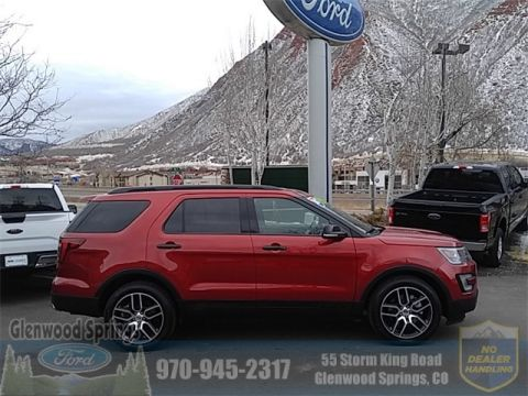 Certified Pre-Owned 2017 Ford Explorer Sport AWD