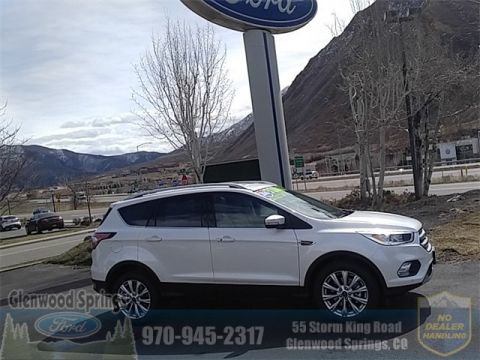 New 2018 Ford Escape Titanium With Navigation & 4WD