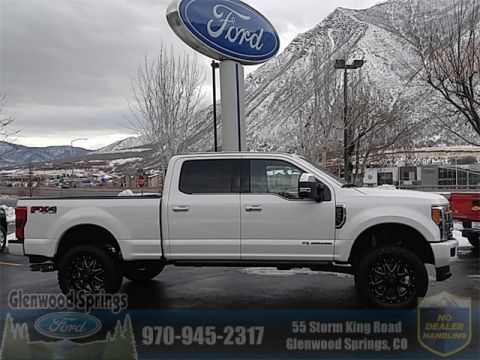 New 2017 Ford F-350SD Platinum With Navigation & 4WD