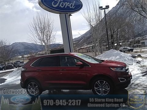 Certified Pre-Owned 2016 Ford Edge Titanium AWD