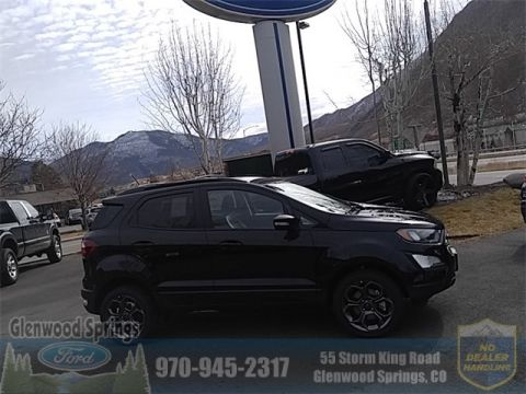 New 2018 Ford EcoSport SES With Navigation & 4WD