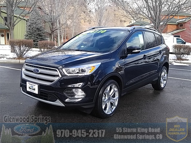 Ford Escape Titanium >> New 2019 Ford Escape Titanium With Navigation 4wd