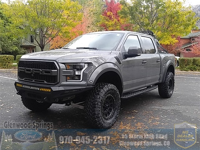 New 2018 Ford F 150 Raptor 4d Supercrew In Glenwood Springs J500