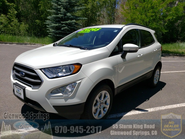 New 2019 Ford Ecosport Se 4d Sport Utility In Glenwood Springs K374