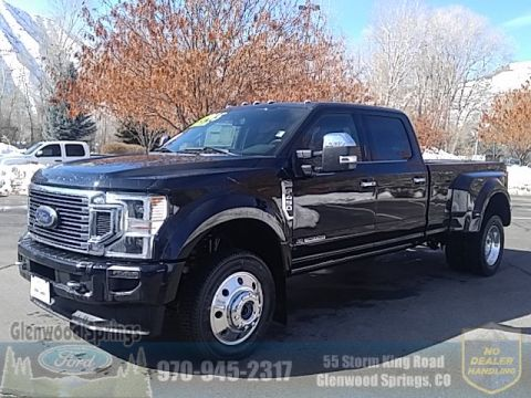New 2020 Ford F-450SD Platinum