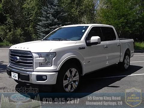 Certified Pre-Owned 2017 Ford F-150 Limited